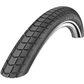 "SCHWALBE Super Moto-X Clincher Tyre DD E-50 Dual Reflex 26x2.40"", black"